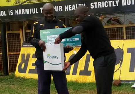 Tusker coach happy to be feted