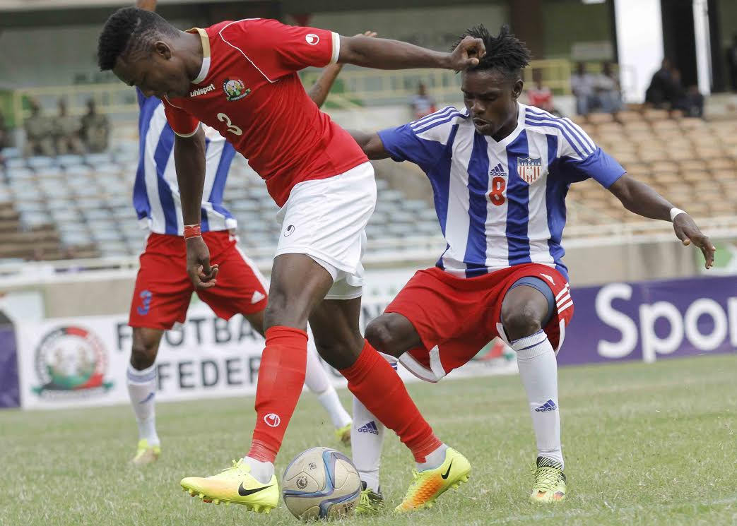 Image result for Kenya beat Liberia 1-0