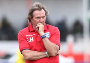 "Stewart Hall: Tusker (1) v AFC Leopards (0) - ""All we need is a striker. There is nothing wrong with the team at all. The team is very good. We just need a striker. We signed Alexis Kitenge and Kerizoni Kizito this week; and we have Vincent Oburu comin..."