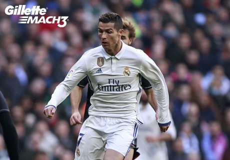 Gillette Mach 3 Clean Strike of the Week: Ronaldo proves why he's the best in the world