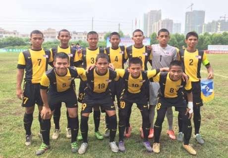 Malaysia U15 lose to South Korea U15 in invitational tournament final