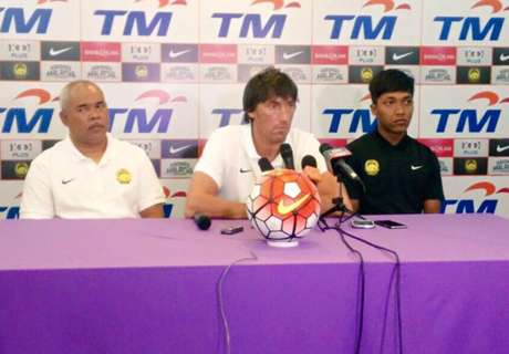 Malaysia U22 will play an open game and pass often, said Bernhardt
