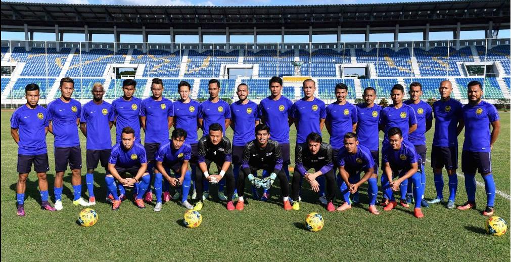 Malaysia national team in Yangon, Myanmar 18/11/16