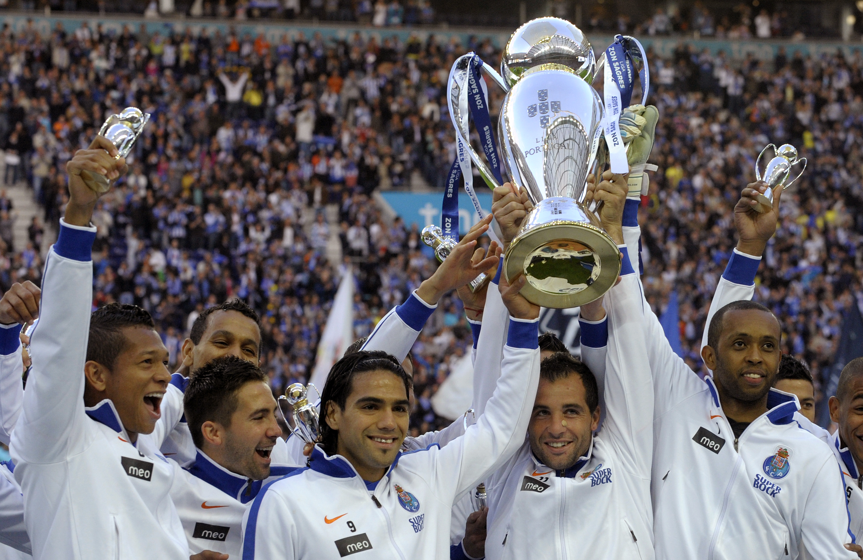 Falcao part of Porto's title winning side