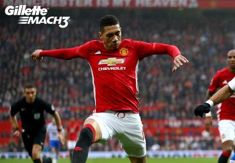 Gillette Mach 3 Best Defender of the Week: Chris Smalling kept Man Utd composed