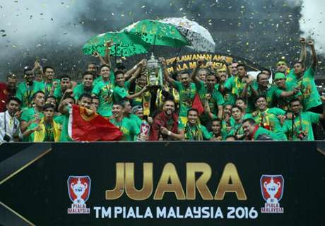 JDT, Pahang and Kedah separated