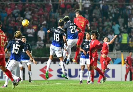 Myanmar wins to move to second spot in Group B