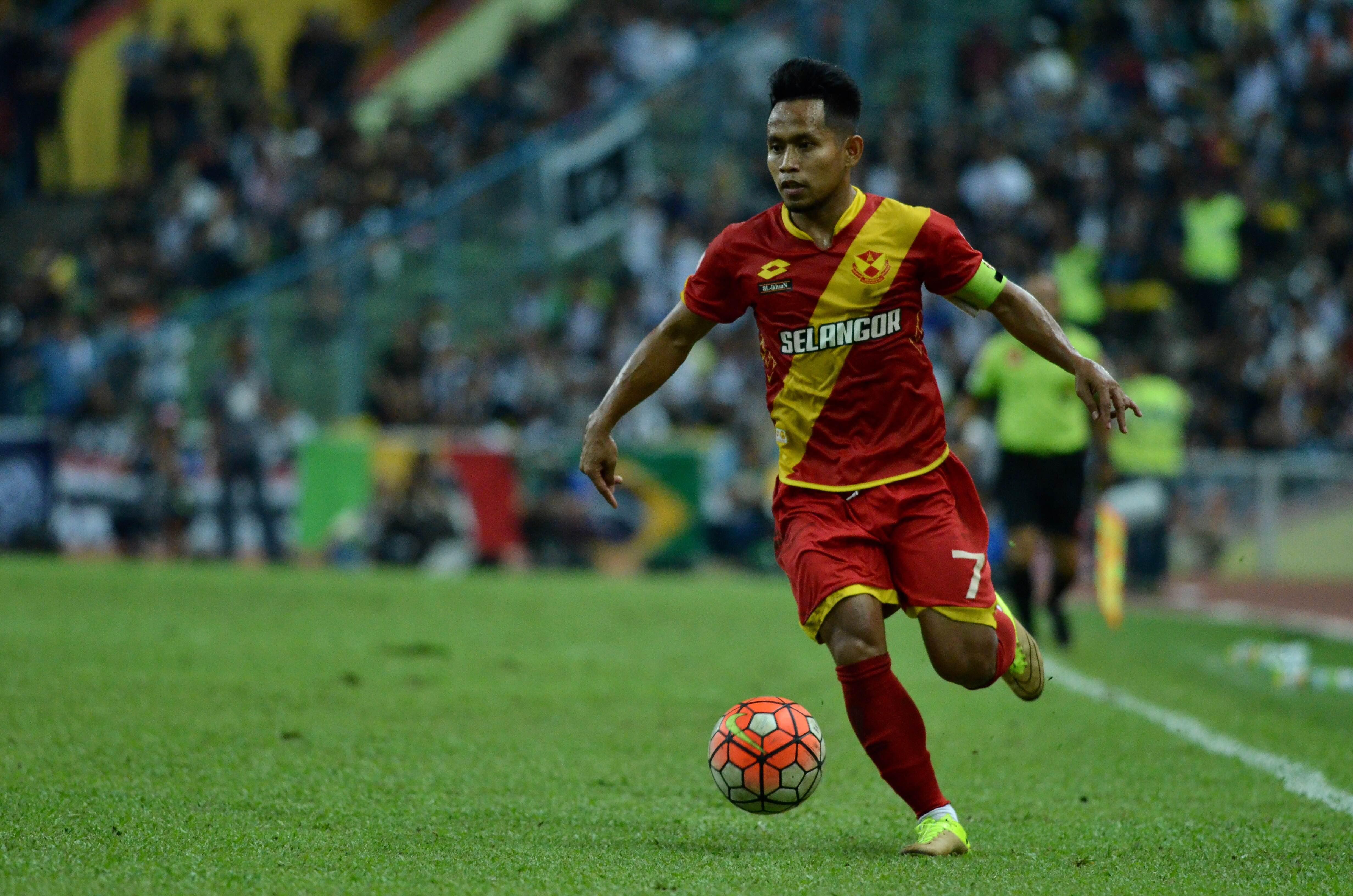 Selangor's Andik Vermansah against T-Team 01/10/16