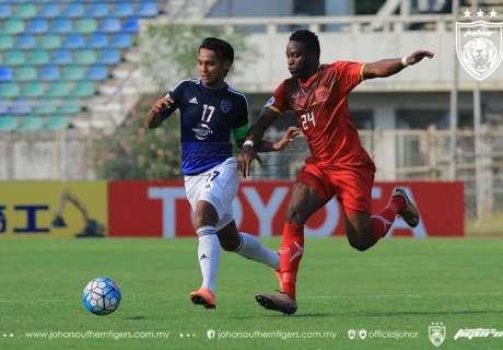 REPORT: Ayeyawady 1-2 JDT