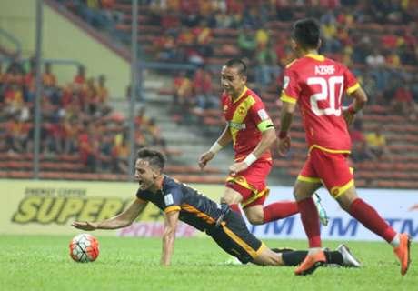 Selangor 2-1 T-Team: In numbers