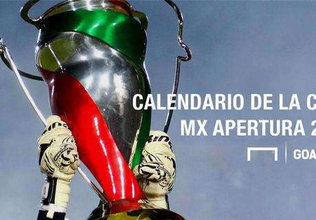 Calendario de la Copa MX