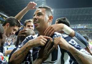 Edwin Cardona: Se anotó con un señor golazo en la victoria del Monterrey sobre Dorados.