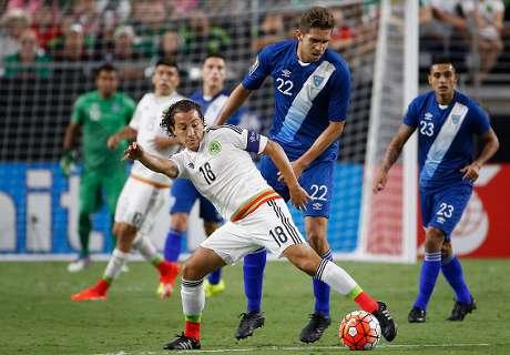 Copa Oro: Guatemala 0-0 México