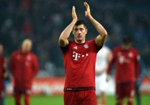 Robert Lewandowski hat bei Bayern München noch Vertrag bis 2019