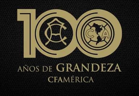El América desvela logo del Centenario