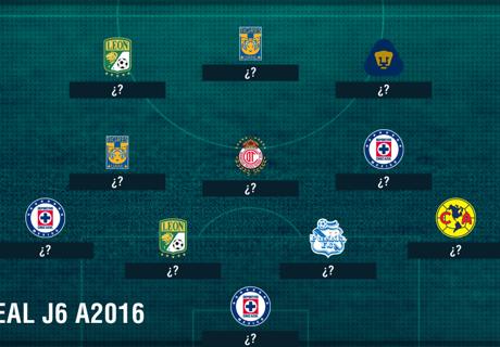 XI ideal J6 del Apertura 2016