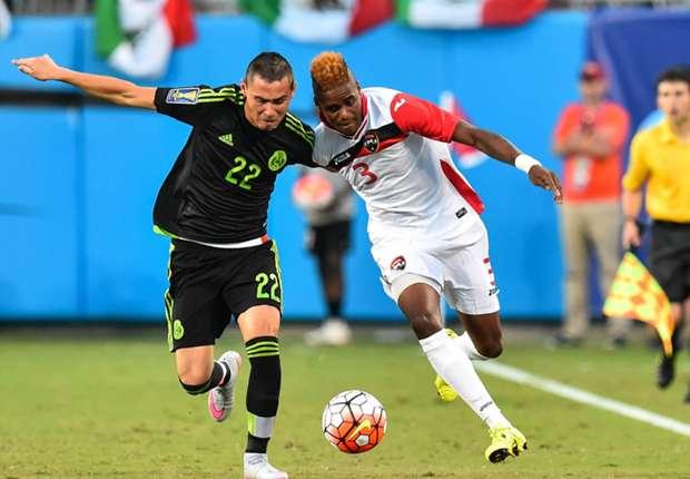 Paul Aguilar and Joevin Jones - Mexico vs Trinidad y Tobago Gold Cup 07152015