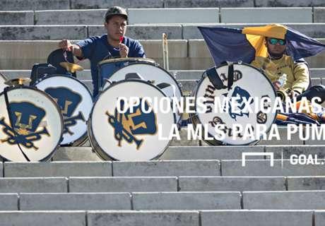 MLS: Opciones mexicanas para Pumas