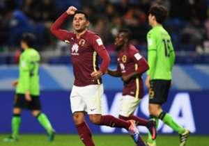 Silvio Romero anotó el empate ante la escuadra del Jeonbuk.