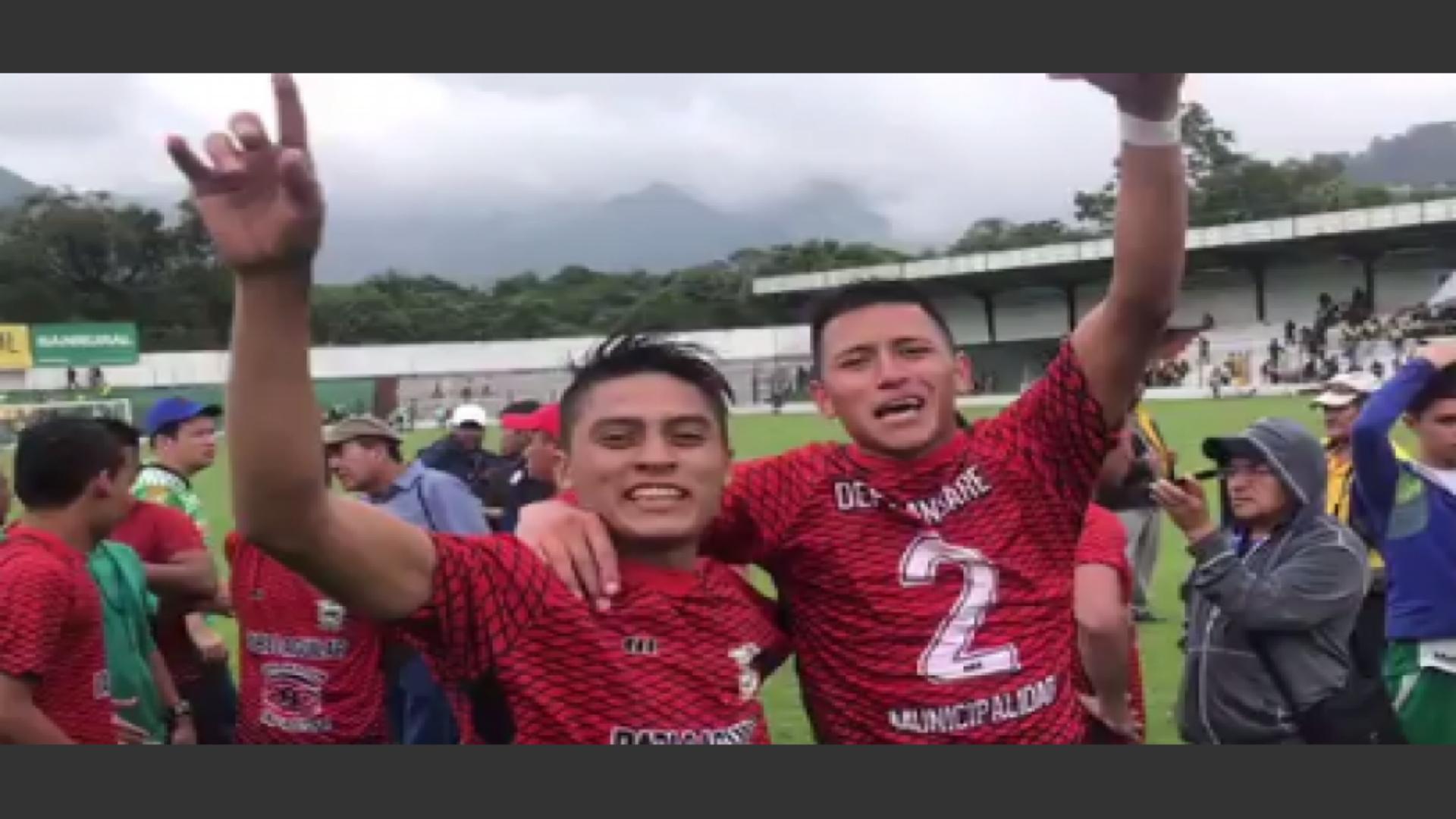 Chimaltenango y Sansare atrapan su ascenso a la Primera División