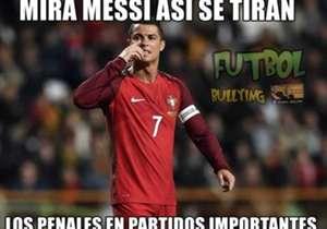 Memes de CR7 semifinalista de la Euro.