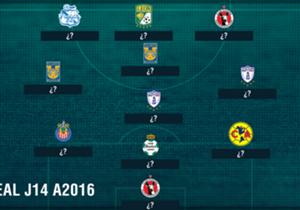 ¿Qué jugadores formarán parte del XI Ideal en esta J14?
