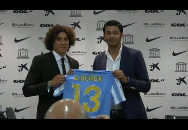 Malaga complete Ochoa deal