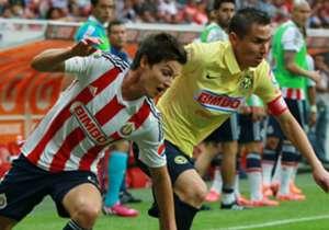 Clau 09 Guadalajara1-0 América | Aper 09 América1-0 Guadalajara | Bic 10 Guadalajara 1-0 América | Aper 10 América 0-0 Guadalajara | Clau 11 Guadalajara 3-0 América | Aper 11 América1-3Guadalajara | Clau 12 Guadalajara 0-1 América | Aper 12 América...