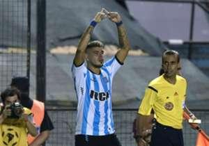 Racing terminó venciendo a Puebla 1-0 en el juego de vuelta y 3-2 en el marcador global para clasificarse a la fase de grupos de la Copa Libertadores.