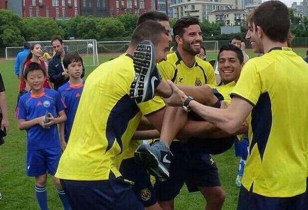 Javier Aquino se irá cedido del Villarreal con tal de tener más actividad