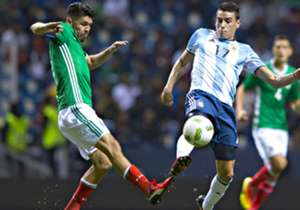 México Sub 23 Argentina Sub 23 Partido Amistoso 28072016 Oribe Peralta