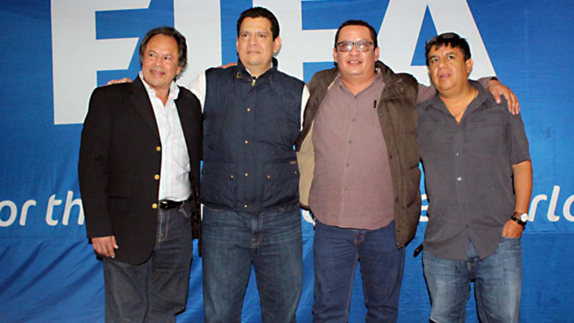 Alfonso Cruz Berganza continúa al frente de la Liga Nacional de futbol