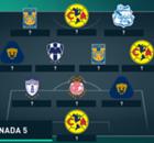 El XI ideal de la J5 Clausura 2016