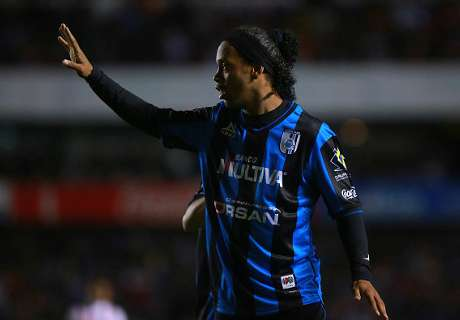 Ronaldinho Leaves 'Party' Early