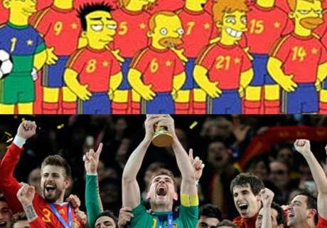 Futbolistas que salieron en los Simpson