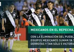 Desde que se instauró la fase previa de grupos de la Copa Libertadores, los equipos mexicanos han ganado 5 series y perdido las restantes 7.