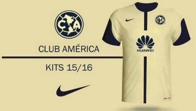 Playera am rica for Cuarto uniforme del club america