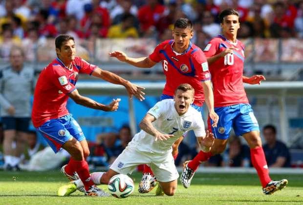 Imbangi Inggris, Kosta Rika puncaki Grup D.