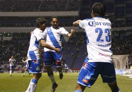 Puebla goleó y ya piensa en Racing