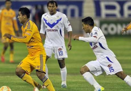 Libertadores: San José 0 x 1 Tigres