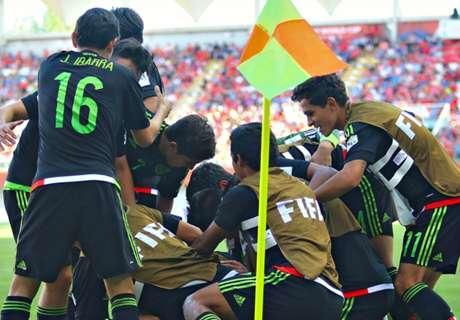 Mexico U-17s move on