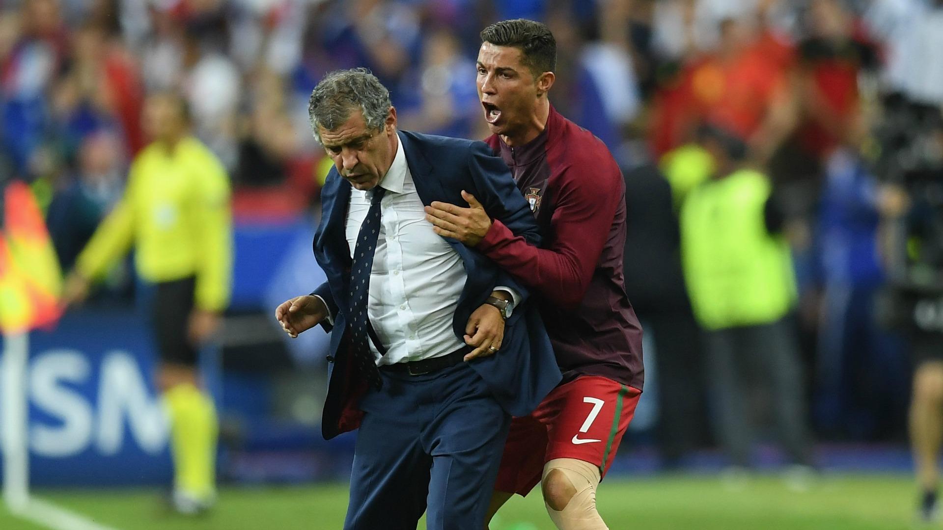 Fernando Santos también 'sufrió' a Cristiano Ronaldo - Goal.com