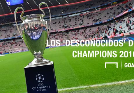 Desconocidos de la Champions 2016-17