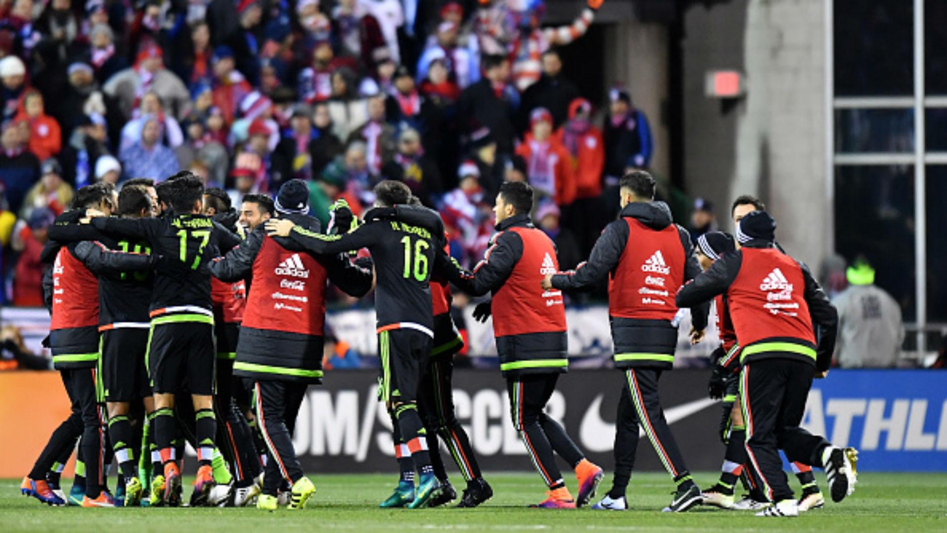 México gana 2-1 ante Estados Unidos en Columbus
