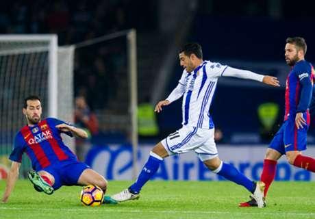 Real Sociedad no pierde contra Barcelona, apuesta muy bien pagada en la Copa del Rey