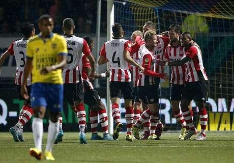 Holanda: Cambuur 0-6 PSV