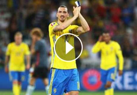 ► Ibra y su épico adiós con Suecia