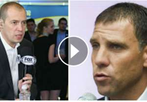 André Martín y Alberto García Aspe, conductores en la cadena Fox Sports, calentaron los ánimos.