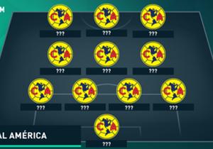 Te presentamos el XI ideal en la historia de las Águilas del América.