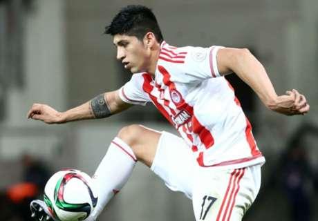 Pulido reporta con Olympiacos